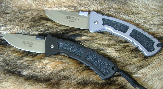 Нож Oswego County Machine & Knife Coyote